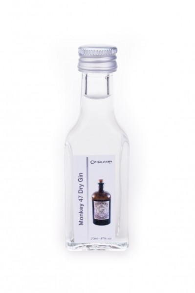 Monkey 47 Schwarzwald Dry Gin Tasting Miniatur - 0,02L 47% vol