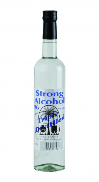 Strong Alcohol 96, Schnaps, Alkohol - 96% vol - (0,5L)