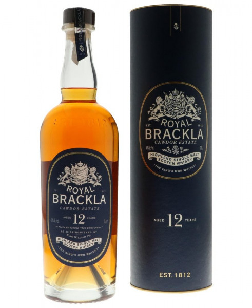 Royal Brackla 12 Jahre Single Malt Scotch Whisky - 1 Liter 40% vol