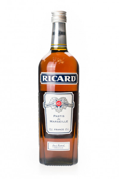 Ricard Pastis de Marseille - 1 Liter 45% vol