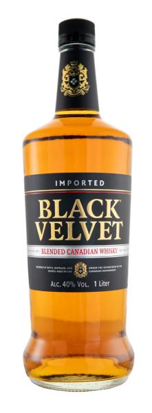 Black Velvet Blended Candian Whisky - 1 Liter 40% vol