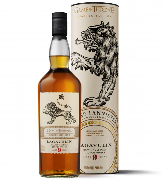 House Lannister Lagavulin 9 Jahre Single Malt Sctoch Whisky - 0,7L 46% vol
