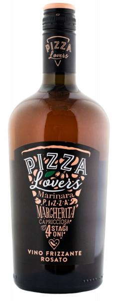 Pizza Lovers Vino Rosato Frizzante - 0,75L 11% vol
