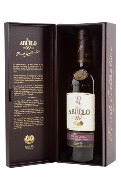 Abuelo XV Napoleon Cognac Cask Finish - 0,7L 40% vol
