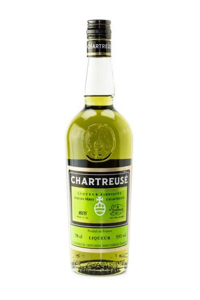 Chartreuse grün Kräuterlikör - 0,7L 55% vol