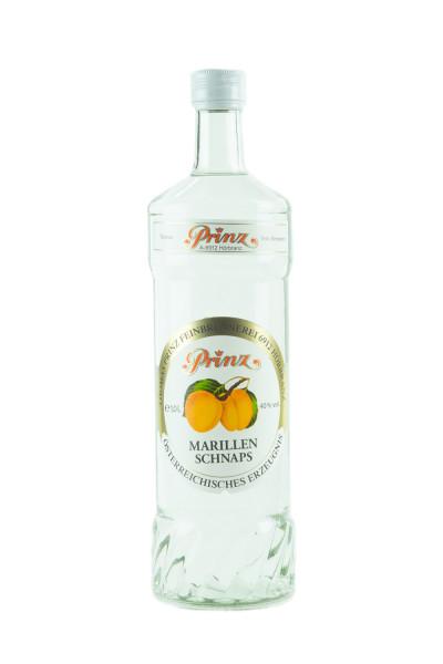 Prinz Marillen Schnaps - 1 Liter 40% vol