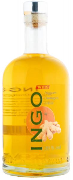 Weis Ingo Ingwer-Orangen Likör - 0,5L 20% vol