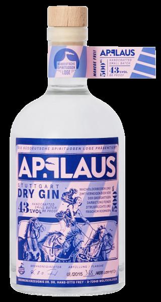 Applaus Stuttgart Dry Gin - 0,5L 43% vol