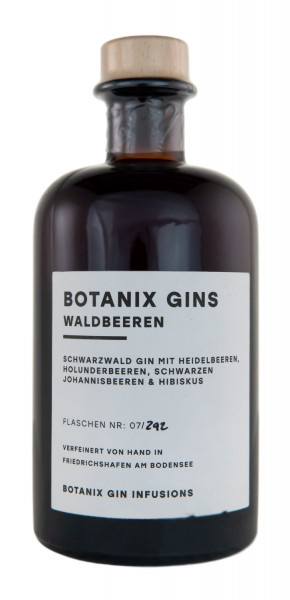 Botanix Waldbeeren Gin - 0,5L 40% vol