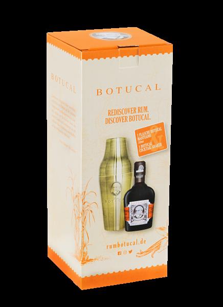Botucal Mantuano mit Cocktail-Shaker - 0,35L 40% vol