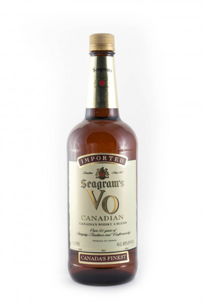 Seagrams VO, Canadian Whisky - 40% vol - (1 Liter)