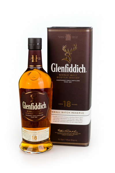 Glenfiddich 18 Jahre Single Malt Scotch Whisky - 0,7L 40% vol
