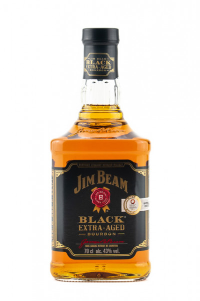 Jim Beam Black Label 6 Jahre Bourbon Whiskey - 0,7L 43% vol