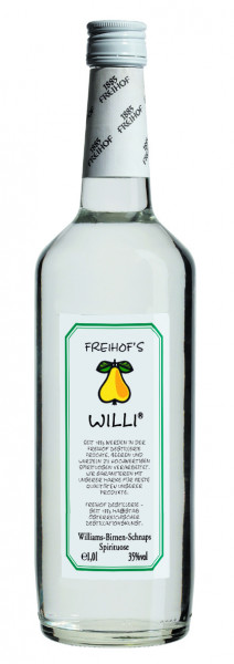 Freihof`s WILLI Williams-Birnen-Schnaps - 1 Liter 35% vol