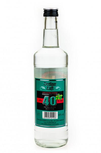 Berliner Luft 40 Der extra starke Pfefferminzlikör - 0,7L 40% vol