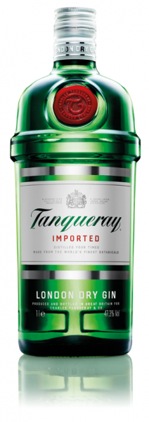 Tanqueray London Dry Gin - 1 Liter 47,3% vol