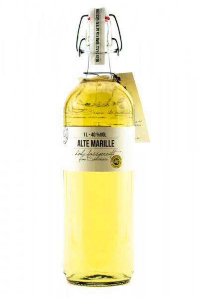 Birkenhof Fasslagerung Alte Marille - 1 Liter 40% vol