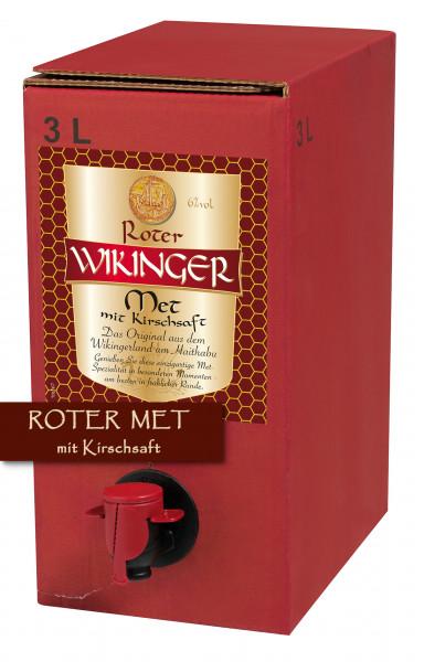 Roter Wikinger Met 3 Liter Bag-Box - 3L 6% vol