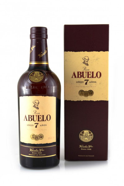Abuelo 7 YO Rum - 40% vol - (0,7L)
