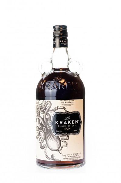 The Kraken Black Spiced - 1 Liter 40% vol