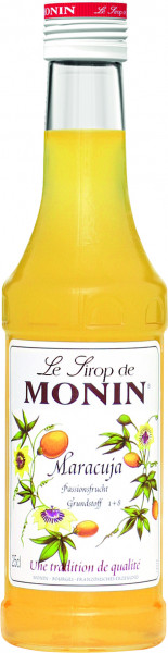 Monin Maracuja Fruit de la Passion Sirup - 0,25L