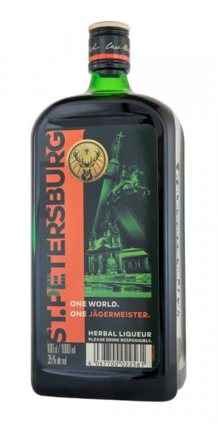 Jägermeister Kräuterlikör St. Petersburg Edition - 1 Liter 35% vol