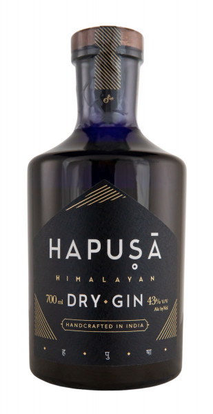 Hapusa Himalayan Handcrafted Indian Dry Gin - 0,7L 43% vol