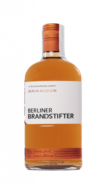 Berliner Brandstifter Aged Gin - 0,7L 50,3% vol