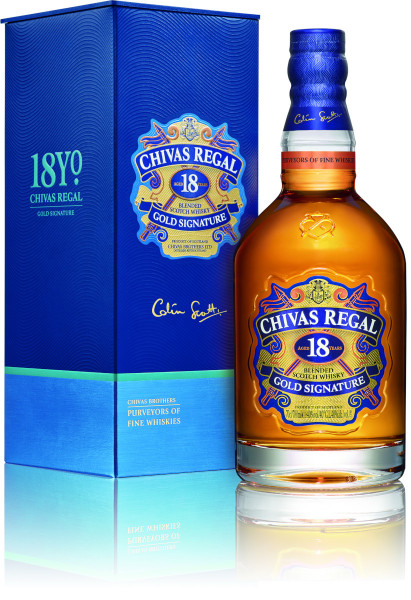 Chivas Regal 18 Jahre Gold Signature Blended Scotch Whisky - 0,7L 40% vol