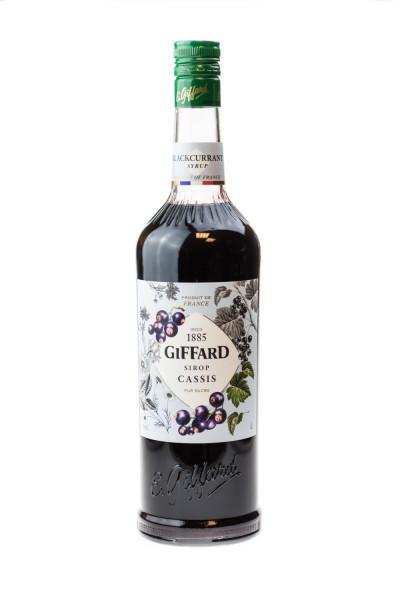 Giffard Cassis Sirup - 1 Liter
