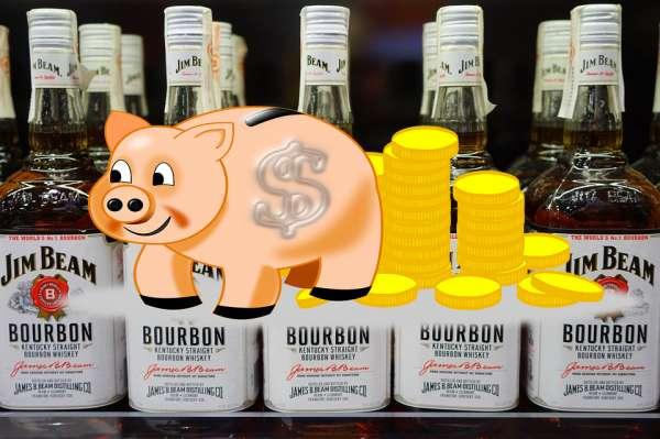 Whisky-mit-Schwein