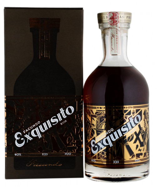 Facundo Exquisito Rum - 0,7L 40% vol