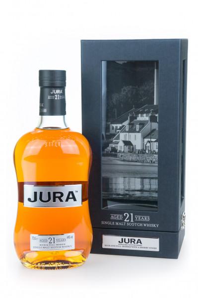Isle of Jura 21 Jahre Single Malt Scotch Whisky - 0,7L 44% vol