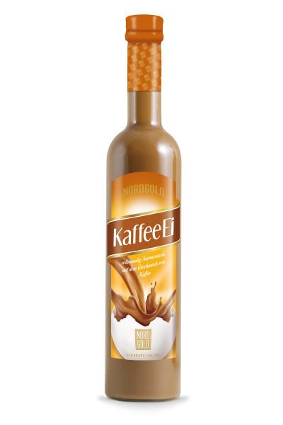 Nordgold Kaffee Ei Likör - 0,5L 15% vol