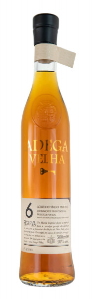 Brandy Reserva 6 Jahre Adega Velha - 0,5L 40% vol