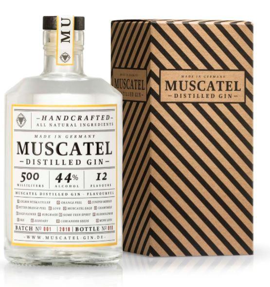 Muscatel Gin - 0,5L 44% vol