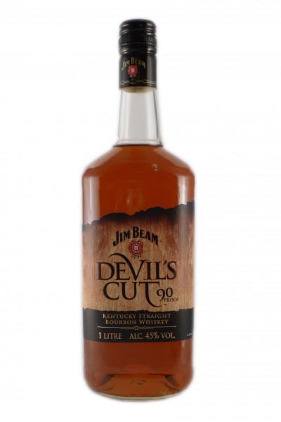Jim Beam Devils Cut, Kentucky Straight Bourbon - 45% vol - (1 Liter)