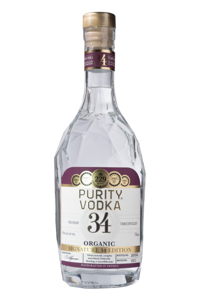 Purity Signature 34 Edition Organic Vodka - 0,7L 40% vol