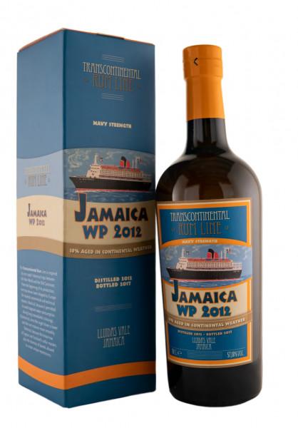 Jaimaca Worthy Park 2012 Navy Transcontinental Rum Line - 0,7L 57,2% vol