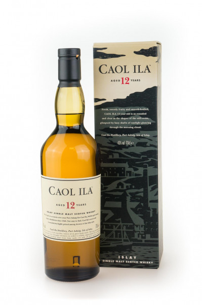 Caol Ila 12 Jahre Single Malt Scotch Whisky - 0,7L 43% vol