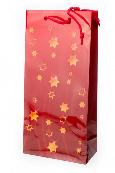 2er Geschenk-Tüte Sternentraum, 170 x 85 x 360 mm