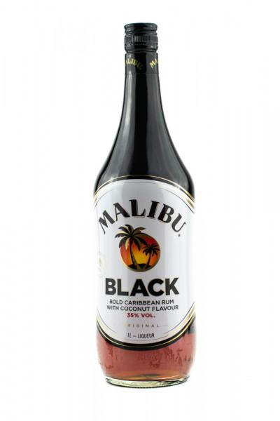 Malibu Black Likör - 1 Liter 35% vol