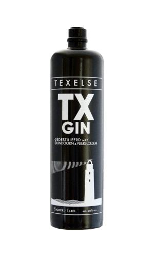 TX Gin Flasche