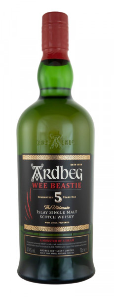 Ardbeg 5 Jahre Old Wee Beastie Single Malt Scotch Whisky - 0,7L 47,4% vol