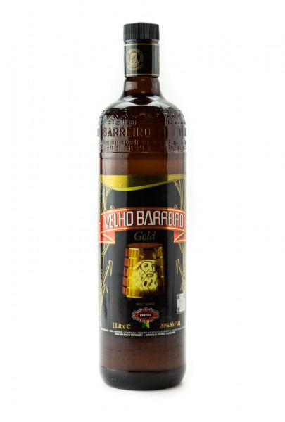 Velho Barreiro Gold Cachaca - 1 Liter 39% vol