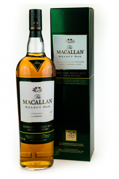 Macallan Select Oak Highland Single Malt Scotch Whisky - 1 Liter 40% vol