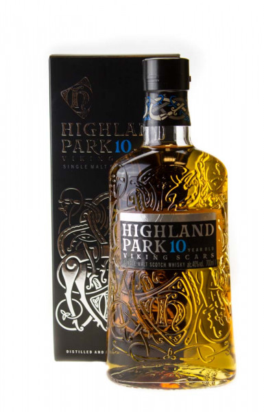 Highland Park 10 Jahre Single Malt Scotch Whisky - 0,7L 40% vol