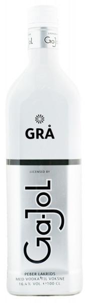 Ga-Jol Grå Grey Pfeffer Lakritzlikör - 1 Liter 16,4% vol
