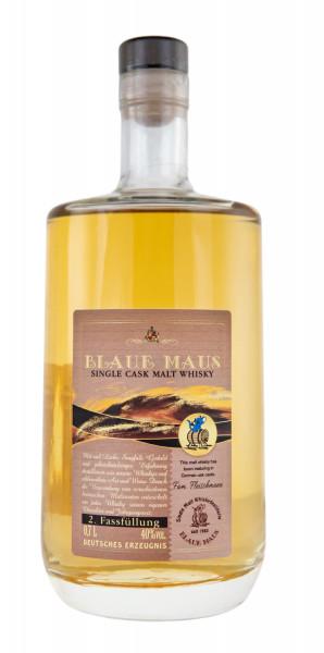 Blaue Maus Single Cask Whisky Fass 2 - 0,7L 40% vol