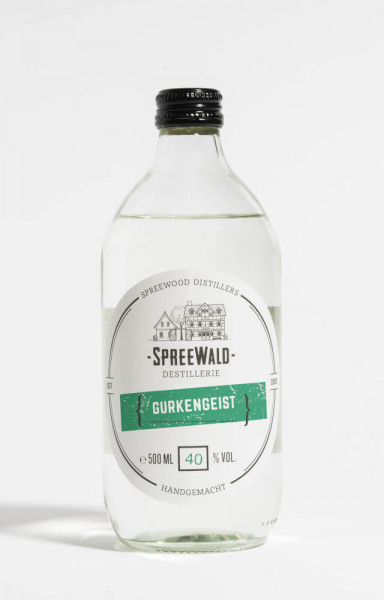 Spreewood Distillers Gurkengeist - 0,5L 40% vol